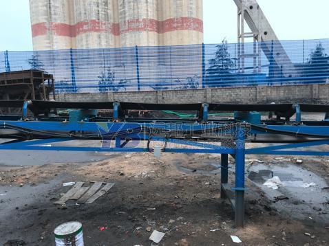山东泰安热电厂皮带秤案例